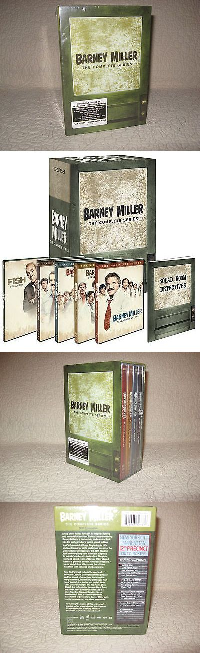 cds dvds vhs: Barney Miller The Complete Series Seasons 1-8,25 Dvd Set,Brand New,Sealed. -> BUY IT NOW ONLY: $40.89 on eBay!