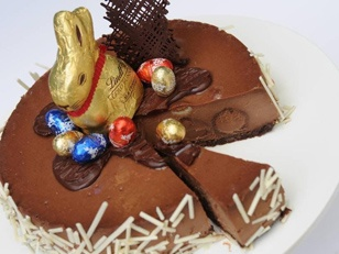 Lindt Easter Cheesecake