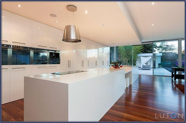 Kitchen - floor to ceiling cupboards