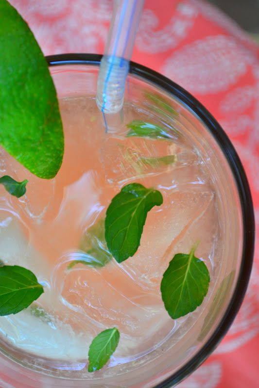 Fresh Grapefruit Mojito - The View from Great Island: Grapefruit Mojito, Lovely Libations, Adult Beverages, Alcohol Drinks Yum, Beverage Bliss, Alcoholic Drinks, Island