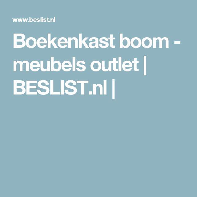 Boekenkast boom - meubels outlet | BESLIST.nl |