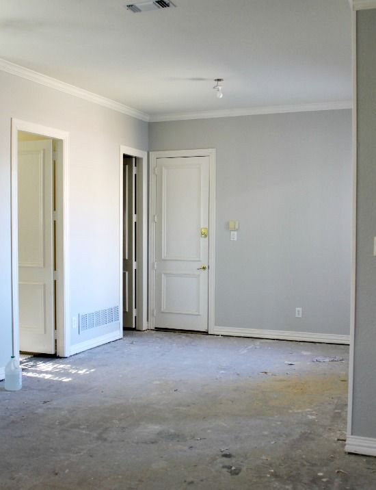 Sw Repose Gray At 50 Addition Paint Pinterest