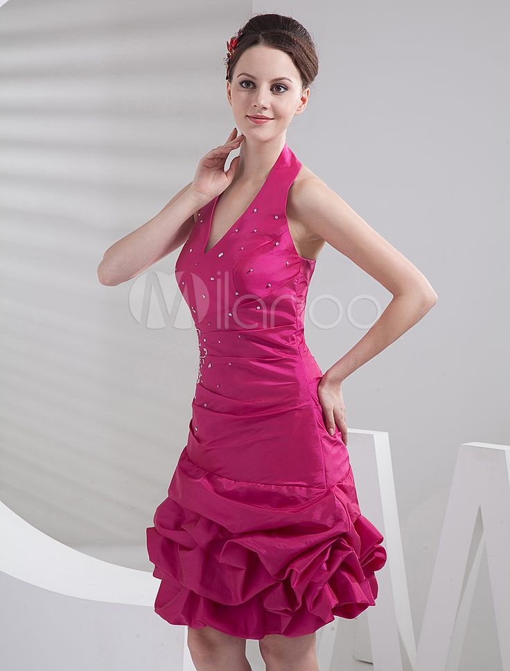 #Milanoo.com Ltd          #Homecoming Dresses       #Fuchsia #Mini #Length #Halter #A-line #Taffeta #Homecoming #Dress            Fuchsia Mini Length Halter A-line Taffeta Homecoming Dress                                              http://www.snaproduct.com/product.aspx?PID=5682578