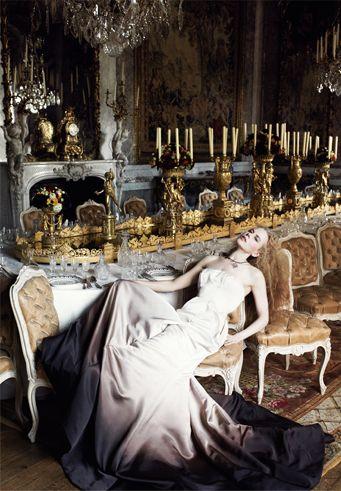 Nicole Kidman, Vogue 2006, by Mario Testino