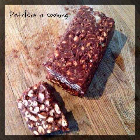 Patrícia is cooking.: Snack de cacau e amendoim {vegan, integral, sem aç...