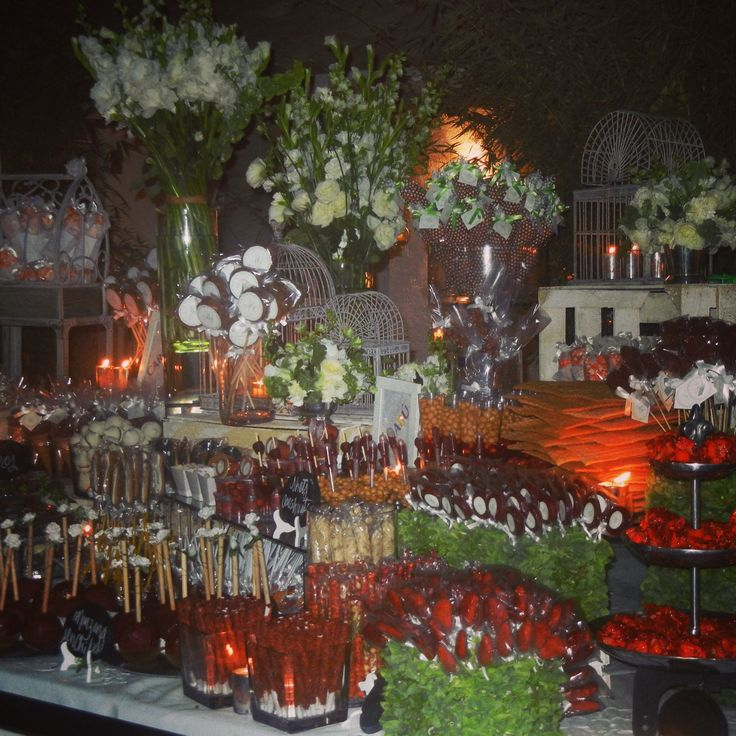 Mesa dulces para boda mesas de dulces postres y - Mesa de dulces para bodas ...