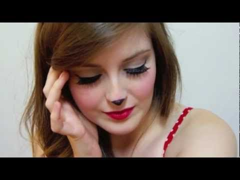 9 best Minnie Mouse makeup images on Pinterest   Make up, Costumes ...