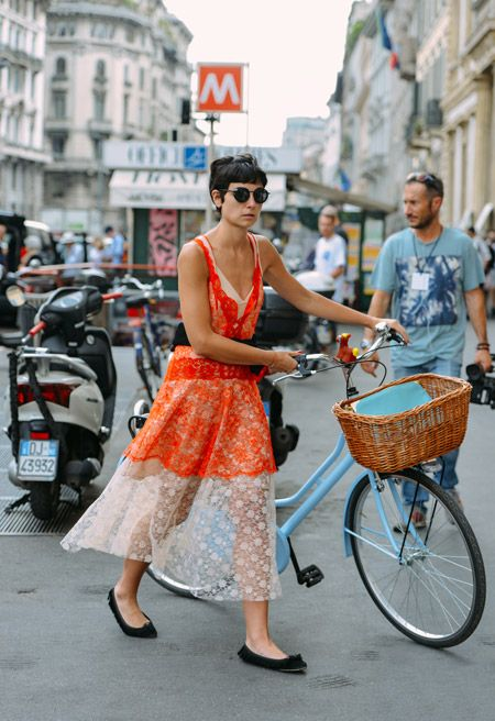 Basket-Bearing Bikes are IN