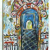 """Картины и панно ручной работы. Ярмарка Мастеров - ручная работа """"Арка"""", картина акрилом. Handmade."""