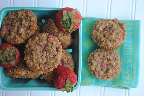 Gluten-Free Strawberry Oatmeal Muffins Berrylicious Ebook Maggie ...