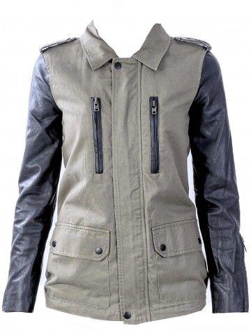 Chaquetas de Cuero | Leather Jackets Prendas clave para toda la vida #MustHave Chaqueta Valerie de Walter Baker en www.styleto.co