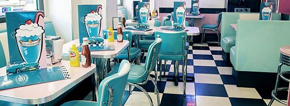 Panoramique du restaurant Happy Days Diner à Paris