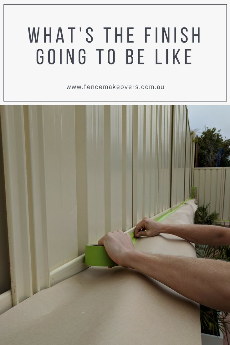 Painting a colorbond fence - technique and the amazing finish it gives  https://fencemakeovers.com.au/dulux-fence-paint-colour-chart/
