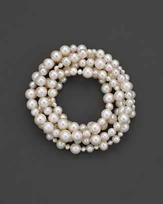 Freshwater pearl bracelet - bloomingdales