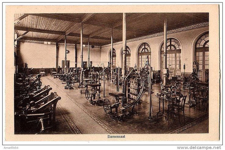 1910 Bad Nauheim - Damensaal