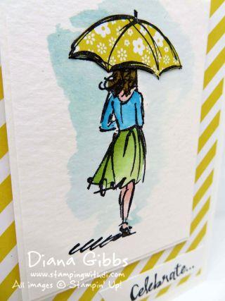 Beautiful You Rain Diana Gibbs Stampin' Up!