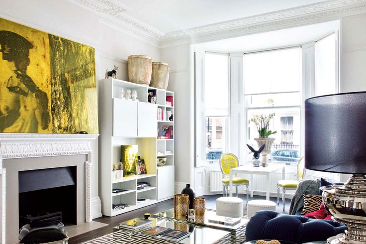 Inside a Provocative and Glam London Apartment via @MyDomaine