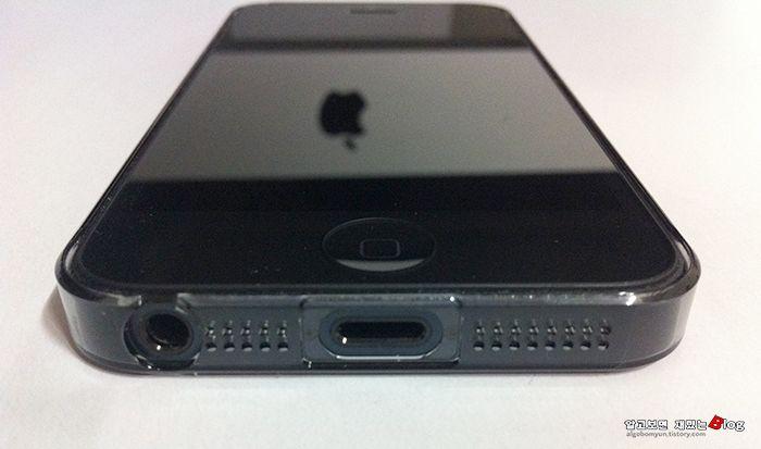 아이폰5 투명 하드 케이스, 파워서포트 에어자켓 클리어 블랙 리뷰   알고보면 재밌는 블로그