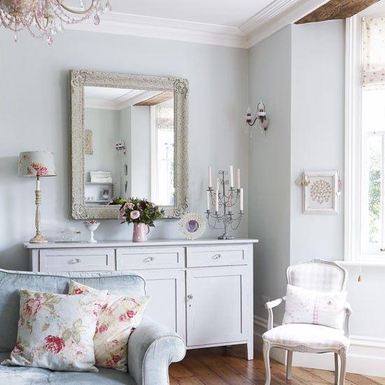 Vintage country living room | Pastel colours | Vintage design idea | Image | Housetohome