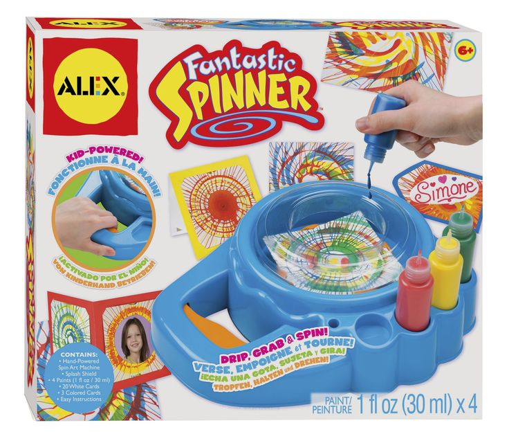 Amazon.com: ALEX® Toys - Artist Studio Fantastic Spinner -Art 161W: Toys & Games