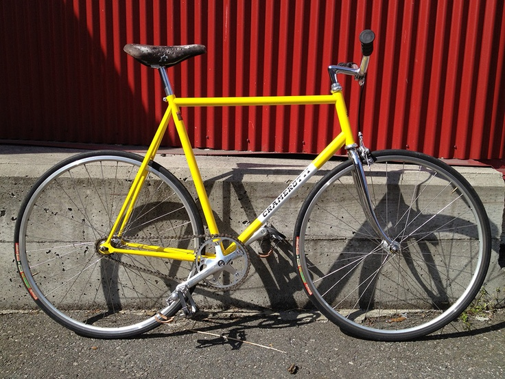 Cramerotti Tvt Classic Track Bike 58cm Fixed Gear Cycling