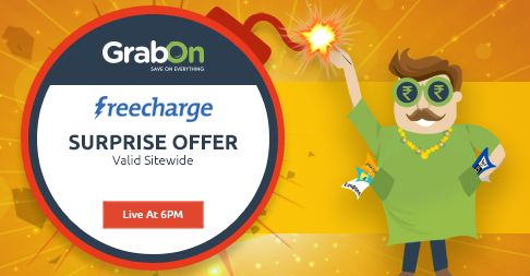 Extra Dhamakedar #Diwali With Extra Bachat Only @ Freecharge. http://www.grabon.in/diwali-offers/ Grab Using #BachatWaliDiwali Offers!!