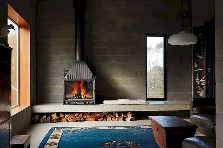 Gorgeous 60 Awesome Fireplace Ideas Makeover https://roomadness.com/2017/09/14/60-beautiful-eclectic-fireplace-decor/