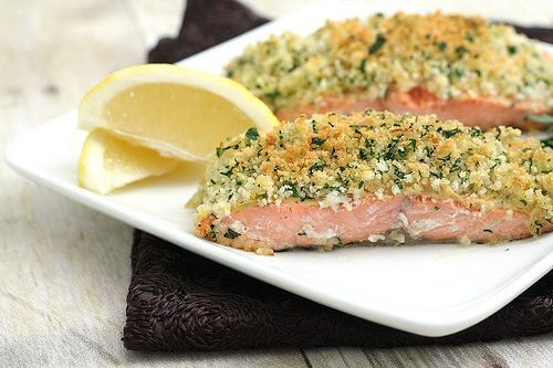 Panko-Crusted Salmon | food preperation, love to cook | Pinterest