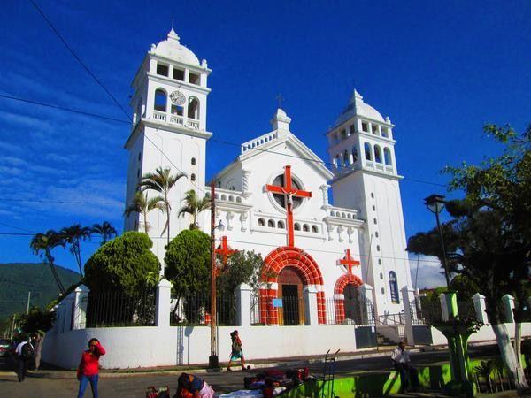 Church in Juayua,El Salvador