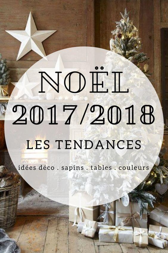 Noël 2017 / 2018 - les premières tendances pour la décoration de Noël cette année (idées déco, sapins, table de Noël, couleurs, inspirations, déco extérieure,...)