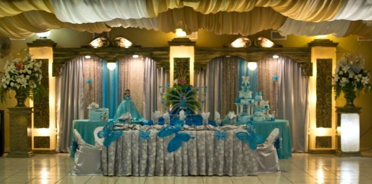 beautiful quinceanera main table backdrop quinceanera sweet 16 pinterest beautiful. Black Bedroom Furniture Sets. Home Design Ideas