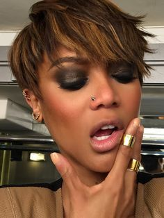 tyra banks short hair style - Google Search