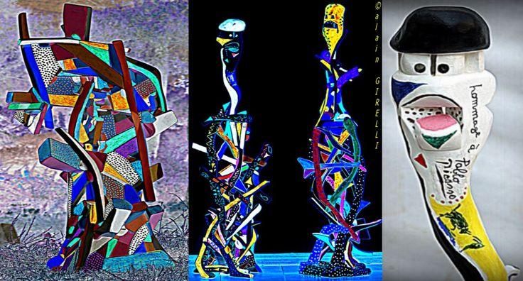 https://image-store.slidesharecdn.com/447e99be-8b7b-46c8-a4fb-29fa3807689d-original.jpeg  esculturas, madeira pintada. sculptures ,bois peint .sculptures, painted wood.Skulpturen, lackiertem Holz.   http://www.quora.com/Alain-Girelli/blogs   http://www.quora.com/Alain-Girelli/all_posts