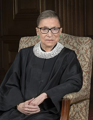 """I ask no favor of our brethren. All I ask is that they take their feet off our necks."" Ruth Bader Ginsberg"