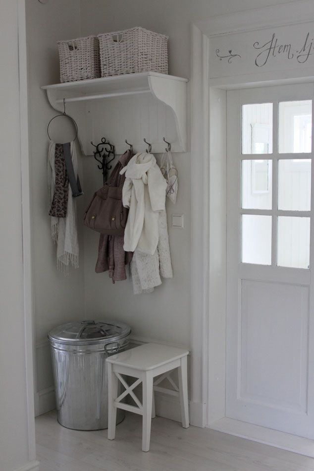 Entrance hall storage solution with style