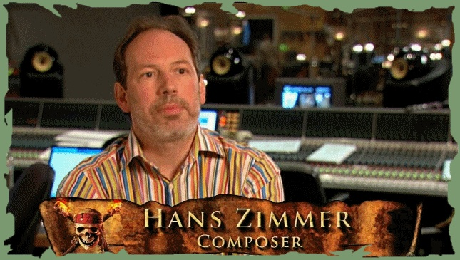 Hans Zimmerman has composed for many movies.  He is truly gifted.
