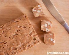 Fudge de Chocolate Branco Caramelizado - deve ser difícil