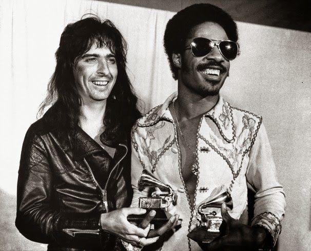 Alice and Stevie Wonder - 1974