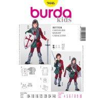 9446 Riddare SyDax.se Burda Style Mönster till maskerad, utklädnad och Halloween