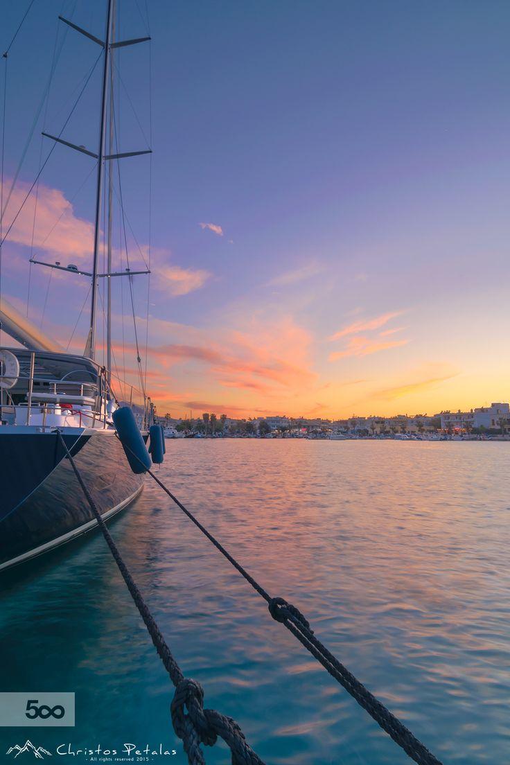 Kos harbor Greece by Christos Petalas on 500px