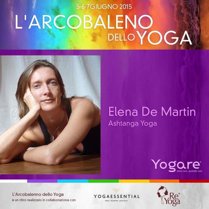 """Elena De Martin aprirà la giornata di sabato del nostro Ritiro!  Elena è un' insegnante autorizzata per l'insegnamento dell'Ashtanga Vinyasa Yoga dallo """"Sri K.Pattabhi Jois Ashtanga Yoga Institute"""" di Mysore (India)."""