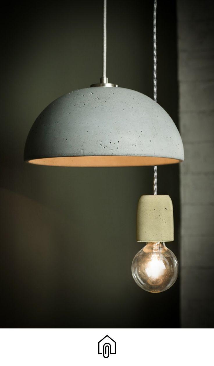 Globus 280 concrete pendant light