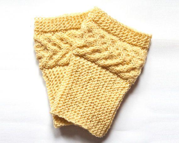Cuff boots. Warm feet. Loading. Winter. Autumn. от LoveKnittings