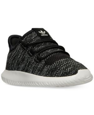 adidas Toddler Boys' Tubular Shadow Knit Casual Sneakers from Finish Line - Black