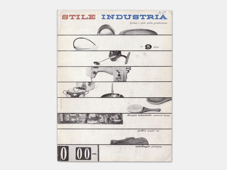 Michele Provinciali - magazine cover design for Stile Industria