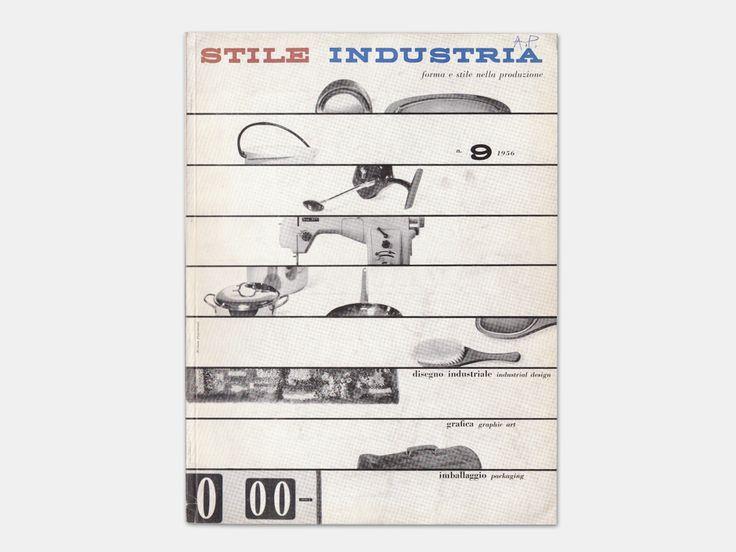 Michele Provinciali - magazine cover design for Stile Industria