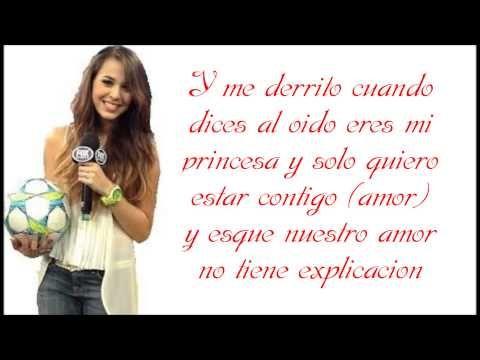 Danna Paola - Nuestro Amor (LETRA)