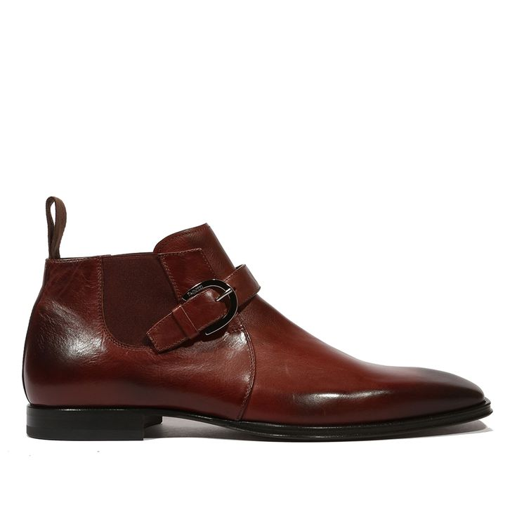 Cesare Paciotti Men's Shine Prugna Violet Boot (CPM5138)