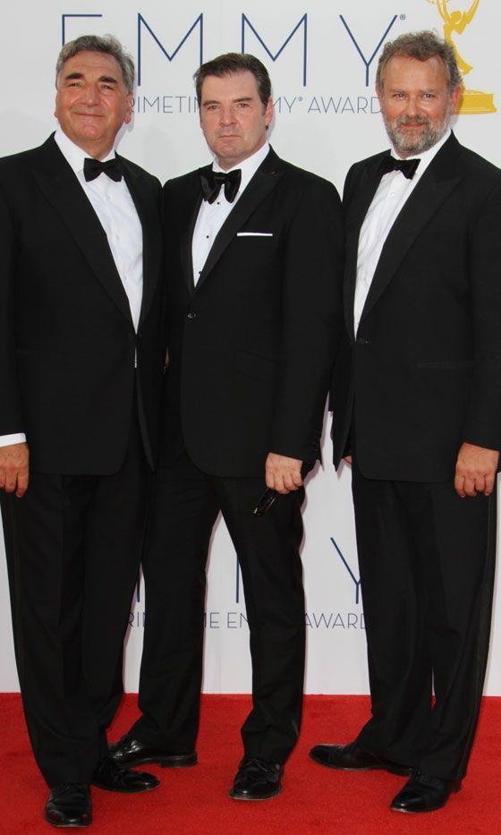 The men of Downton Abbey