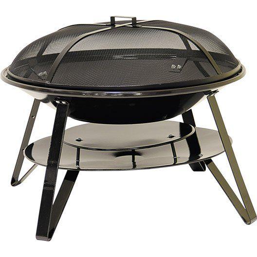 Barbecue au charbon de bois Brasero